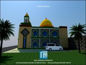 Tampak Samping Masjid