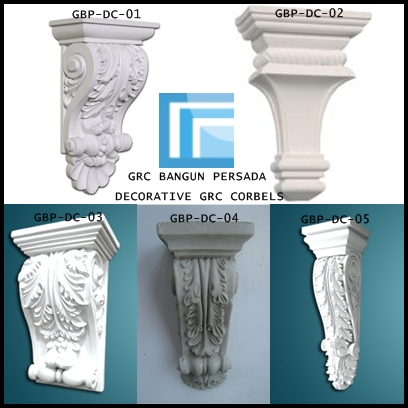 DECORATIVE GRC CORBELS / KONSOL