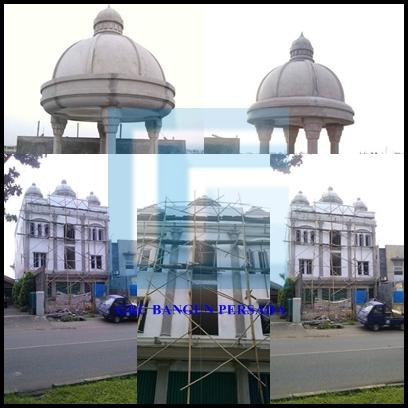 Project GRC Exterior Bangunan Ruko Joglo - Jakarta
