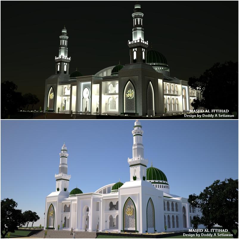 Design Masjid AL ITTIHAD – CIBUBUR